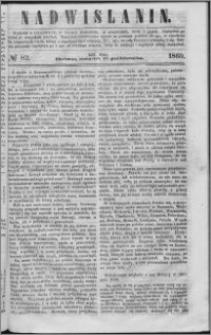 Nadwiślanin, 1860.10.11 R. 11 nr 82
