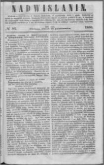 Nadwiślanin, 1860.10.16 R. 11 nr 84