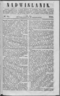 Nadwiślanin, 1860.10.18 R. 11 nr 85