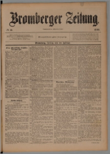 Bromberger Zeitung, 1898, nr 41