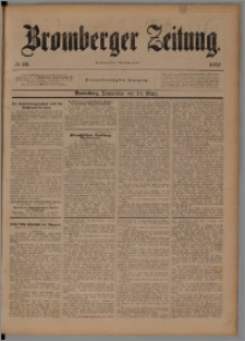 Bromberger Zeitung, 1898, nr 58