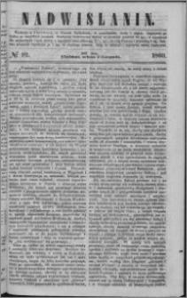 Nadwiślanin, 1860.11.03 R. 11 nr 92