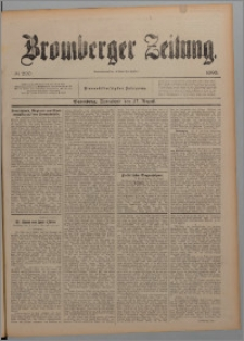 Bromberger Zeitung, 1898, nr 200