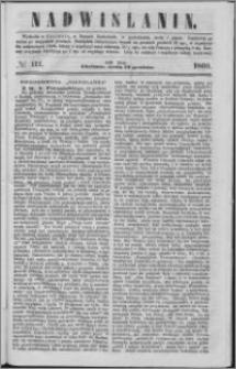 Nadwiślanin, 1860.12.19 R. 11 nr 111
