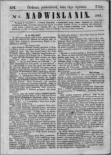 Nadwiślanin, 1861.01.14 R. 12 nr 4