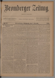 Bromberger Zeitung, 1900, nr 177