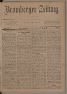 Bromberger Zeitung, 1900, nr 188