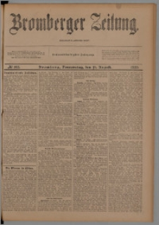 Bromberger Zeitung, 1900, nr 190