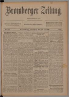 Bromberger Zeitung, 1900, nr 199