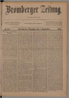 Bromberger Zeitung, 1900, nr 206