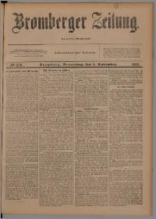 Bromberger Zeitung, 1900, nr 208