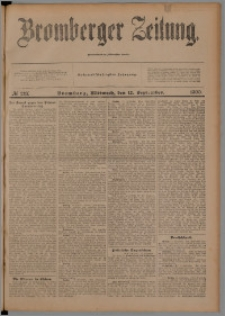 Bromberger Zeitung, 1900, nr 213