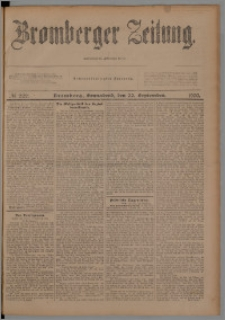 Bromberger Zeitung, 1900, nr 222
