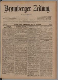 Bromberger Zeitung, 1901, nr 46