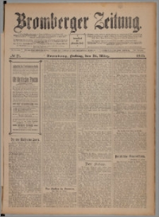 Bromberger Zeitung, 1905, nr 71