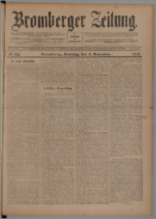 Bromberger Zeitung, 1905, nr 261
