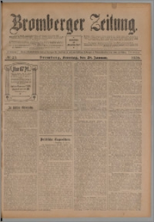 Bromberger Zeitung, 1906, nr 23