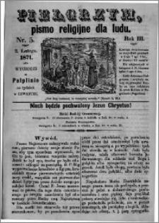 Pielgrzym, pismo religijne dla ludu 1871 nr 5