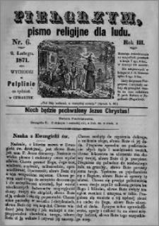 Pielgrzym, pismo religijne dla ludu 1871 nr 6
