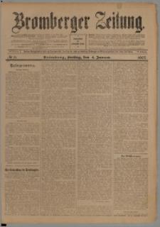 Bromberger Zeitung, 1907, nr 3