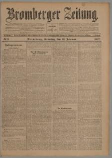 Bromberger Zeitung, 1907, nr 11