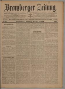 Bromberger Zeitung, 1907, nr 12