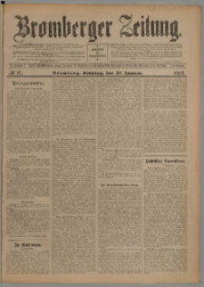 Bromberger Zeitung, 1907, nr 17