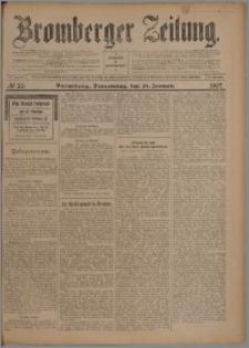 Bromberger Zeitung, 1907, nr 20