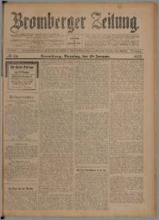 Bromberger Zeitung, 1907, nr 24