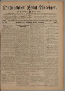 Bromberger Zeitung, 1907, nr 30