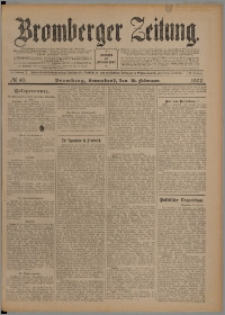 Bromberger Zeitung, 1907, nr 40