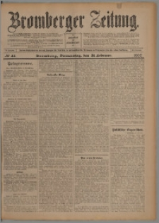 Bromberger Zeitung, 1907, nr 44
