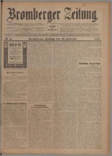 Bromberger Zeitung, 1907, nr 45