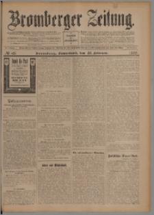 Bromberger Zeitung, 1907, nr 46