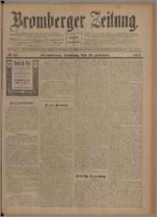 Bromberger Zeitung, 1907, nr 47