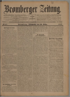 Bromberger Zeitung, 1907, nr 67