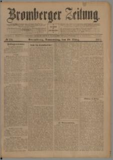 Bromberger Zeitung, 1907, nr 74