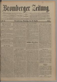 Bromberger Zeitung, 1907, nr 93