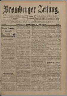 Bromberger Zeitung, 1907, nr 96