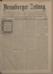 Bromberger Zeitung, 1907, nr 173