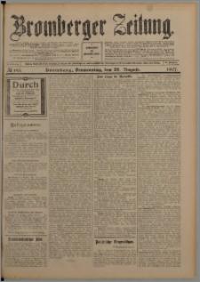 Bromberger Zeitung, 1907, nr 196