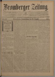 Bromberger Zeitung, 1907, nr 202