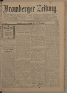 Bromberger Zeitung, 1907, nr 203