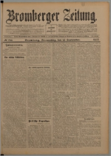 Bromberger Zeitung, 1907, nr 214