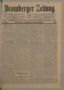 Bromberger Zeitung, 1907, nr 221