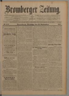 Bromberger Zeitung, 1907, nr 224