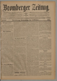 Bromberger Zeitung, 1907, nr 244