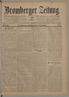 Bromberger Zeitung, 1907, nr 286