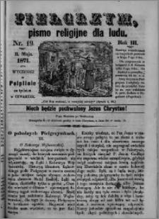 Pielgrzym, pismo religijne dla ludu 1871 nr 19