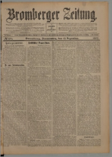 Bromberger Zeitung, 1907, nr 291
